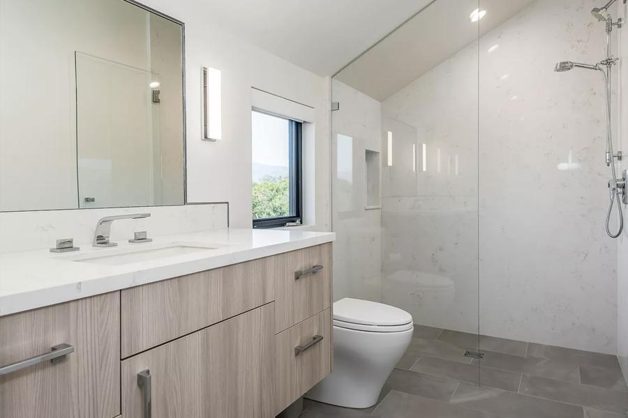 traditional bathroom cabinetry malibu